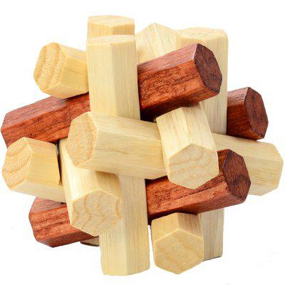 Puzzle Toy Kong Ming / Luban Lock 3PCSBlock Toys<br>Puzzle Toy Kong Ming / Luban Lock 3PCS<br><br>Gender: Unisex<br>Materials: Wood<br>Package Contents: 3 x Lock Toy<br>Package size: 12.00 x 7.00 x 7.00 cm / 4.72 x 2.76 x 2.76 inches<br>Package weight: 0.1500 kg<br>Product size: 10.00 x 5.00 x 5.00 cm / 3.94 x 1.97 x 1.97 inches<br>Product weight: 0.1200 kg<br>Suitable Age: Kid<br>Theme: Other<br>Type: Kids Building