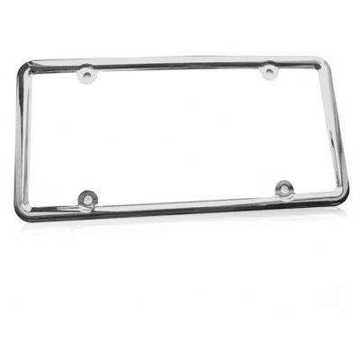 IZTOSS AP2860 Chrome-plating License Plate Frame Holder