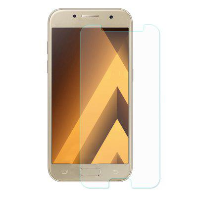 ENKAY Scratch-proof Protective Film for Samsung Galaxy A5 2017Samsung A Series<br>ENKAY Scratch-proof Protective Film for Samsung Galaxy A5 2017<br><br>Brand: ENKAY<br>Features: Ultra thin, Shock Proof, Protect Screen, High Transparency, Anti-oil, Anti scratch, Anti fingerprint<br>Material: Tempered Glass<br>Package Contents: 1 x Tempered Glass, 1 x Dust Absorber, 1 x Cleaning Cloth, 1 x Alcohol Pad<br>Package size (L x W x H): 18.00 x 8.80 x 0.60 cm / 7.09 x 3.46 x 0.24 inches<br>Package weight: 0.0480 kg<br>Product Size(L x W x H): 13.90 x 6.80 x 0.03 cm / 5.47 x 2.68 x 0.01 inches<br>Product weight: 0.0080 kg<br>Surface Hardness: 9H<br>Thickness: 0.3mm<br>Type: Screen Protector