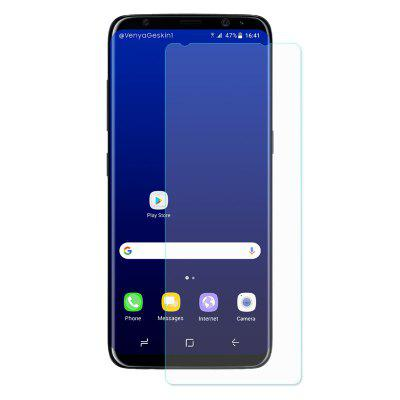 ENKAY Tempered Glass Film for Samsung Galaxy S8Samsung S Series<br>ENKAY Tempered Glass Film for Samsung Galaxy S8<br><br>Brand: ENKAY<br>Compatible Phone Brand: SAMSUNG<br>Features: Anti fingerprint, Anti-oil<br>Material: Tempered Glass<br>Package Contents: 1 x Screen Film, 1 x Cleaning Cloth, 1 x Alcohol Pad, 1 x Dust Remover<br>Package size (L x W x H): 18.00 x 8.80 x 1.20 cm / 7.09 x 3.46 x 0.47 inches<br>Package weight: 0.0480 kg<br>Product weight: 0.0080 kg<br>Surface Hardness: 9H<br>Thickness: 0.26mm
