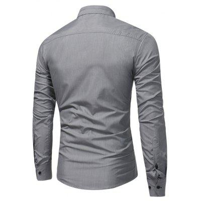 WSGYI Male Elegant Long Sleeve Pure Color ShirtMens Shirts<br>WSGYI Male Elegant Long Sleeve Pure Color Shirt<br><br>Brand: WSGYJ<br>Package Contents: 1 x Shirt<br>Package size: 40.00 x 30.00 x 4.00 cm / 15.75 x 11.81 x 1.57 inches<br>Package weight: 0.3200 kg<br>Product weight: 0.3000 kg