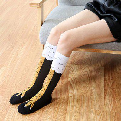 Pair of Adult Knee High Cape Long Socks