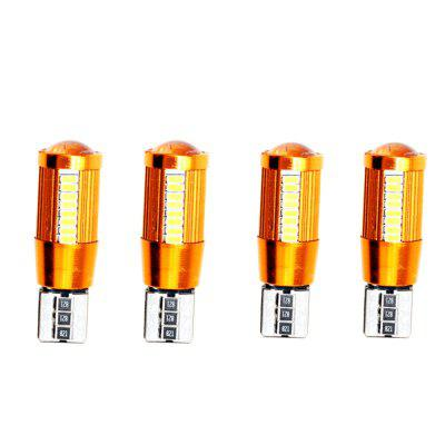 T10 SMD3014 Bulb for Clearance / License Plate Light 4pcs