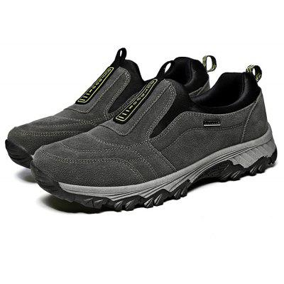 Masculino Soft Outdoor Anti Slip Athletic Shoes para Idosos
