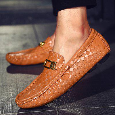 Buy Male British Soft Light Metal Buckle Casual Loafer Leather Shoes, BROWN, 43, Bags & Shoes, Men's Shoes, Casual Shoes for $44.56 in GearBest store