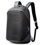 Gearbest Men Water-resistant Anti-theft Backpack with USB Port