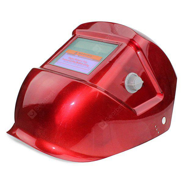 Solid Color Automatic Darkening Electrical Welding Helmet