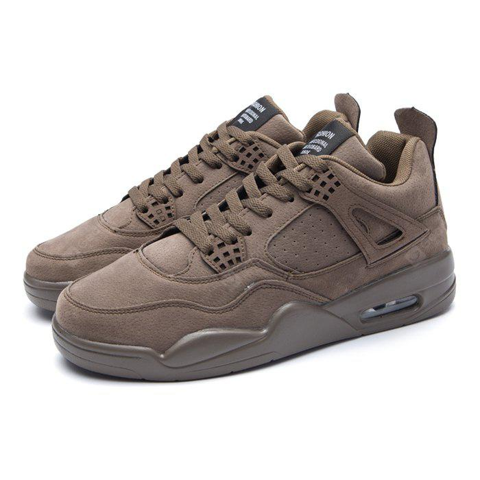 Male Ultralight Soft Heighten Air Cushion Casual Athletic Shoes