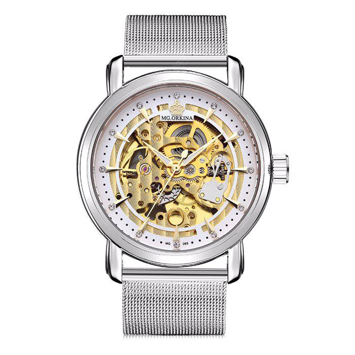 MG.ORKINA ORK1095 Stainless Steel Mesh Band Men Watch