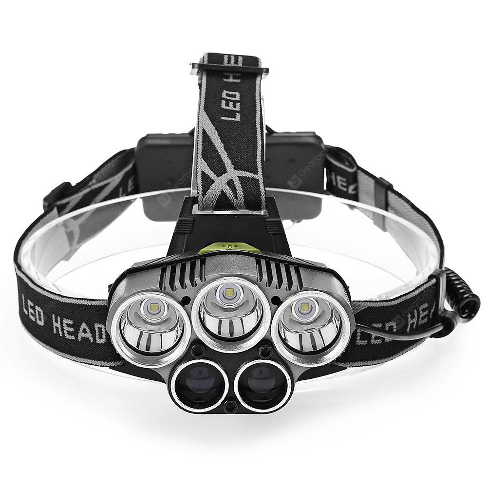 30W 3 CREE XML - T6 with 2 COB Battery Included LED Headlamp