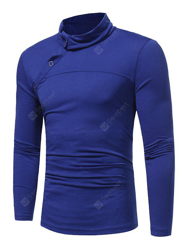 WSGYJ Men's Pure Color Long Sleeve T-shirt