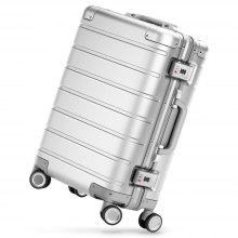 Xiaomi 20 inch Metal Travel Suitcase Universal Wheel - SILVER