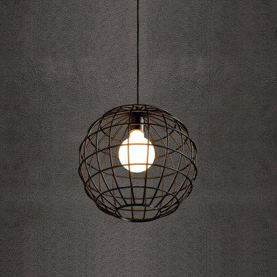 Buy BLACK CXYlight DD 036 American Retro Village Iron Pendant Lamp for $44.38 in GearBest store