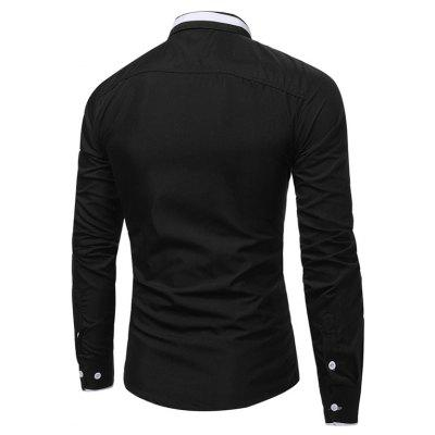 WSGYJ 1600 - 7678 Hit Color Long Sleeve Men ShirtMens Shirts<br>WSGYJ 1600 - 7678 Hit Color Long Sleeve Men Shirt<br><br>Brand: WSGYJ<br>Closure Type: Button<br>Material: Cotton, Polyester<br>Package Contents: 1 x Shirt<br>Package size: 40.00 x 30.00 x 4.00 cm / 15.75 x 11.81 x 1.57 inches<br>Package weight: 0.3200 kg<br>Product weight: 0.3000 kg<br>Style: Casual