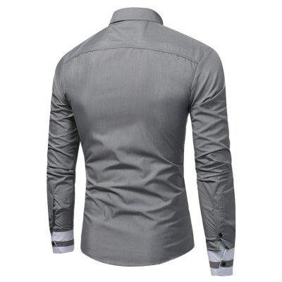 WSGYJ 1600 - 7679 Hit Color Long Sleeve Men ShirtMens Shirts<br>WSGYJ 1600 - 7679 Hit Color Long Sleeve Men Shirt<br><br>Brand: WSGYJ<br>Closure Type: Button<br>Material: Cotton, Polyester<br>Package Contents: 1 x Shirt<br>Package size: 40.00 x 30.00 x 4.00 cm / 15.75 x 11.81 x 1.57 inches<br>Package weight: 0.3200 kg<br>Product weight: 0.3000 kg<br>Style: Casual
