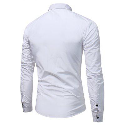 WSGYJ 1600 - 7690 Hit Color Long Sleeve Men ShirtMens Shirts<br>WSGYJ 1600 - 7690 Hit Color Long Sleeve Men Shirt<br><br>Brand: WSGYJ<br>Closure Type: Button<br>Material: Cotton, Polyester<br>Package Contents: 1 x Shirt<br>Package size: 40.00 x 30.00 x 4.00 cm / 15.75 x 11.81 x 1.57 inches<br>Package weight: 0.3200 kg<br>Product weight: 0.3000 kg<br>Style: Casual