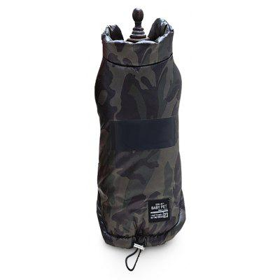 Lovoyager A78 - 1 Dog Green Thick Version of Fan Cotton Vest