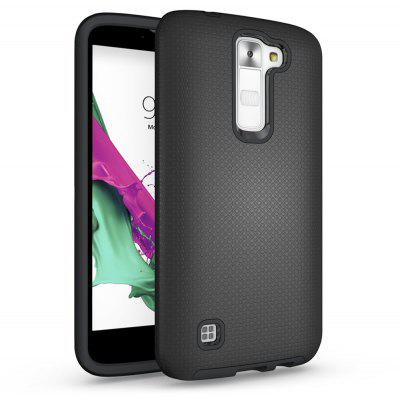 Non-slip Surface Shockproof Back PC Case for LG K7