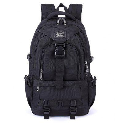 Buy BLACK Kaukko Men Outdoor Nylon Water-resistant Backpack for $37.78 in GearBest store