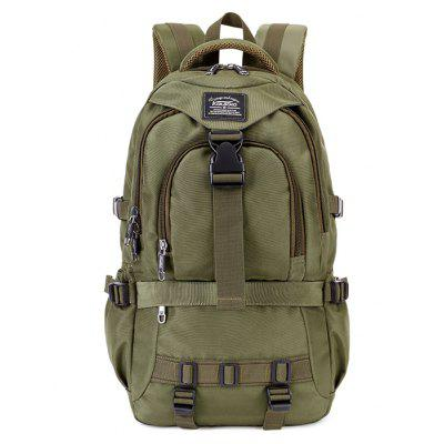 Kaukko Men Outdoor Nylon Water-resistant Backpack