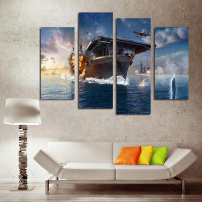God Painting Aircraft Ships Print Wall Decor 4pcsPrints<br>God Painting Aircraft Ships Print Wall Decor 4pcs<br><br>Brand: God Painting<br>Craft: Print<br>Form: Four Panels<br>Material: Canvas<br>Package Contents: 4 x Print<br>Package size (L x W x H): 42.00 x 6.00 x 6.00 cm / 16.54 x 2.36 x 2.36 inches<br>Package weight: 0.3800 kg<br>Painting: Without Inner Frame<br>Product weight: 0.3400 kg<br>Shape: Vertical<br>Style: Modern / Contemporary<br>Subjects: Landscape<br>Suitable Space: Bedroom,Boys Room,Pathway