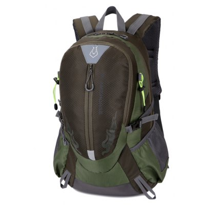 Men Outdoor Large Capacity Nylon Water-resistant Backpack
