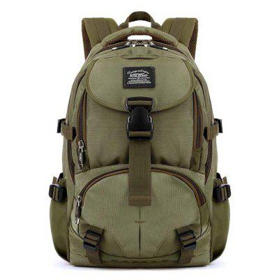 Buy ARMY GREEN Kaukko Men Trendy Outdoor Nylon Water-resistant Backpack for $39.87 in GearBest store