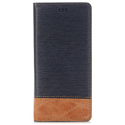 Cross Lines Pattern Wallet Stand Case for Samsung Galaxy Note 8