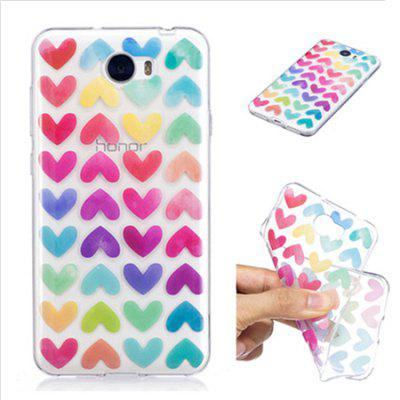 Cartoon Theme Painted TPU Clear Soft Case for HUAWEI Y5IICases &amp; Leather<br>Cartoon Theme Painted TPU Clear Soft Case for HUAWEI Y5II<br><br>Compatible Model: Y5II<br>Features: Back Cover<br>Mainly Compatible with: HUAWEI<br>Material: TPU<br>Package Contents: 1 x Cover Case<br>Package size (L x W x H): 16.10 x 8.40 x 1.80 cm / 6.34 x 3.31 x 0.71 inches<br>Package weight: 0.0450 kg<br>Product Size(L x W x H): 14.70 x 7.50 x 1.00 cm / 5.79 x 2.95 x 0.39 inches<br>Product weight: 0.0210 kg<br>Style: Cute, Mixed Color, Cartoon, Special Design, Pattern