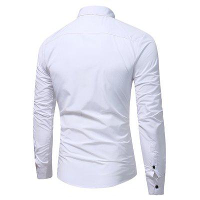 WSGYJ 1600 - 7681 Casual Long Sleeve Men ShirtMens Shirts<br>WSGYJ 1600 - 7681 Casual Long Sleeve Men Shirt<br><br>Brand: WSGYJ<br>Closure Type: Button<br>Material: Cotton, Polyester<br>Package Contents: 1 x Shirt<br>Package size: 40.00 x 30.00 x 4.00 cm / 15.75 x 11.81 x 1.57 inches<br>Package weight: 0.3200 kg<br>Product weight: 0.3000 kg<br>Style: Casual