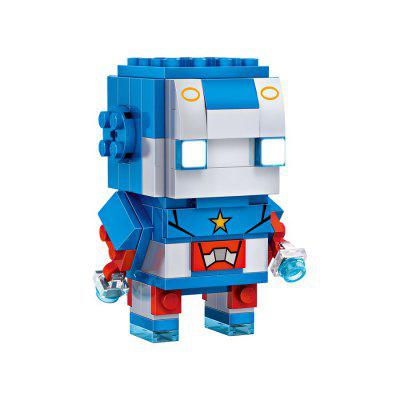LOZ Mini Building Blocks Hero Figure Model Toy 225pcsBlock Toys<br>LOZ Mini Building Blocks Hero Figure Model Toy 225pcs<br><br>Brand: LOZ<br>Gender: Unisex<br>Materials: ABS<br>Package Contents: 1 x Set of Building Blocks<br>Package size: 22.00 x 4.50 x 18.50 cm / 8.66 x 1.77 x 7.28 inches<br>Package weight: 0.1800 kg<br>Product weight: 0.1500 kg<br>Suitable Age: Kid<br>Theme: Movie and TV<br>Type: Kids Building