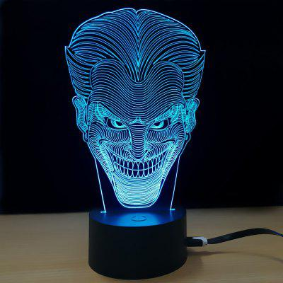 M.Sparkling TD028 Creative Halloween Vampire Night Lamp3D Lamps<br>M.Sparkling TD028 Creative Halloween Vampire Night Lamp<br><br>Brand: M.Sparkling<br>Feature: Rechargeable<br>Light Source Color: RGB<br>Package Content: 1 x Acrylic Board, 1 x ABS Pedestal, 1 x USB Cable, 1 x English Manual<br>Package Size ( L x W x H ): 24.00 x 17.00 x 5.00 cm / 9.45 x 6.69 x 1.97 inches<br>Product Size(L x W x H): 15.00 x 22.00 x 8.50 cm / 5.91 x 8.66 x 3.35 inches<br>Type: Halloween<br>Voltage (V): 5V