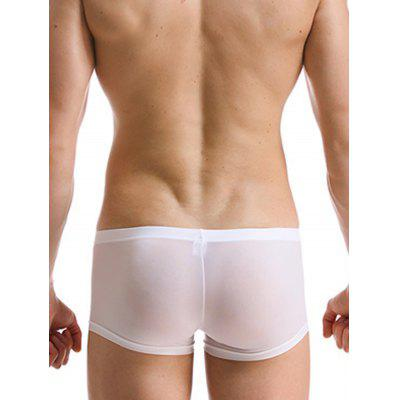 HYD1407 Male Ultra-thin Ice Silk U-convex Low-waist BoxersMens Underwear &amp; Pajamas<br>HYD1407 Male Ultra-thin Ice Silk U-convex Low-waist Boxers<br><br>Material: Polyamide, Spandex<br>Package Contents: 1 x Boxers<br>Package size: 10.00 x 8.00 x 2.00 cm / 3.94 x 3.15 x 0.79 inches<br>Package weight: 0.0500 kg<br>Product weight: 0.0300 kg