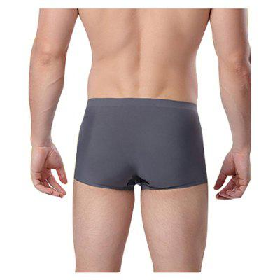 HYD1410 Male Ice Silk Seamless Quick-dry Sports BoxersMens Underwear &amp; Pajamas<br>HYD1410 Male Ice Silk Seamless Quick-dry Sports Boxers<br><br>Material: Polyamide, Spandex<br>Package Contents: 1 x Boxers<br>Package size: 10.00 x 8.00 x 2.00 cm / 3.94 x 3.15 x 0.79 inches<br>Package weight: 0.0800 kg<br>Product weight: 0.0600 kg