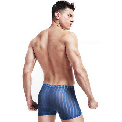 HYD1408 Ultra-thin Sexy Transparent Seamless Ice Silk BoxersMens Underwear &amp; Pajamas<br>HYD1408 Ultra-thin Sexy Transparent Seamless Ice Silk Boxers<br><br>Material: Polyamide, Spandex<br>Package Contents: 1 x Boxers<br>Package size: 10.00 x 8.00 x 2.00 cm / 3.94 x 3.15 x 0.79 inches<br>Package weight: 0.0800 kg<br>Product weight: 0.0600 kg