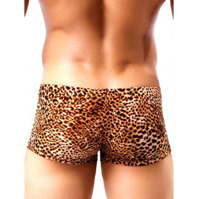 HYD1349 Sexy Male Antibiosis Wild Leopard Print BoxersMens Underwear &amp; Pajamas<br>HYD1349 Sexy Male Antibiosis Wild Leopard Print Boxers<br><br>Material: Polyester, Spandex<br>Package Contents: 1 x Boxers<br>Package size: 10.00 x 8.00 x 2.00 cm / 3.94 x 3.15 x 0.79 inches<br>Package weight: 0.0500 kg<br>Product weight: 0.0300 kg