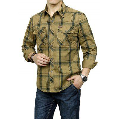 Jeep Rich Plus Size Cotton Checked ShirtMens Shirts<br>Jeep Rich Plus Size Cotton Checked Shirt<br><br>Brand: Jeep Rich<br>Closure Type: Button<br>Material: Cotton<br>Occasion: Casual<br>Package Contents: 1 x Shirt<br>Package size: 35.00 x 25.00 x 2.00 cm / 13.78 x 9.84 x 0.79 inches<br>Package weight: 1.0000 kg<br>Product weight: 0.8000 kg<br>Style: Casual<br>Thickness: Regular