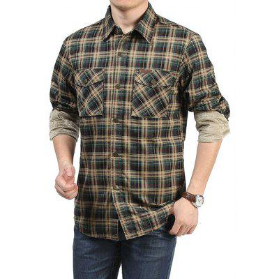 Jeep Rich Men Casual Plus Size Checked ShirtMens Shirts<br>Jeep Rich Men Casual Plus Size Checked Shirt<br><br>Brand: Jeep Rich<br>Closure Type: Button<br>Material: Cotton<br>Occasion: Casual<br>Package Contents: 1 x Shirt<br>Package size: 35.00 x 25.00 x 2.00 cm / 13.78 x 9.84 x 0.79 inches<br>Package weight: 1.0000 kg<br>Product weight: 0.8000 kg<br>Style: Casual<br>Thickness: Regular