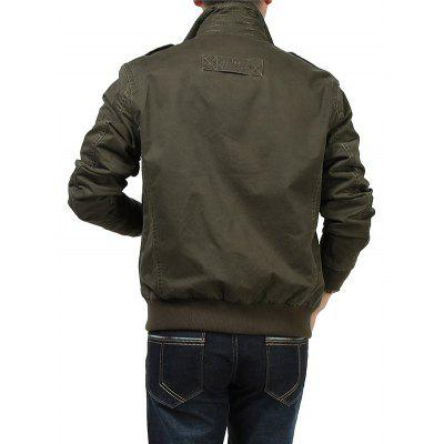 Jeep Rich Outdoor Stand Collar JacketMens Jackets &amp; Coats<br>Jeep Rich Outdoor Stand Collar Jacket<br><br>Brand: Jeep Rich<br>Closure Type: Zipper<br>Clothes Type: Jackets<br>Collar: Stand Collar<br>Embellishment: Others<br>Materials: Cotton<br>Occasion: Going Out<br>Package Content: 1 x Jacket<br>Package Dimension: 35.00 x 25.00 x 2.00 cm / 13.78 x 9.84 x 0.79 inches<br>Package weight: 1.0200 kg<br>Pattern Type: Others<br>Product weight: 1.0000 kg<br>Seasons: Autumn,Winter<br>Shirt Length: Regular<br>Sleeve Length: Long Sleeves<br>Style: Casual<br>Thickness: Medium thickness