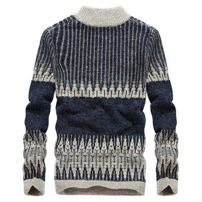 JOOBOX Fashion Comfortable Knitting SweaterMens Sweaters &amp; Cardigans<br>JOOBOX Fashion Comfortable Knitting Sweater<br><br>Brand: JOOBOX<br>Material: Cotton<br>Occasion: Casual<br>Package Contents: 1 x Sweater<br>Package size: 30.00 x 40.00 x 1.00 cm / 11.81 x 15.75 x 0.39 inches<br>Package weight: 0.7200 kg<br>Product weight: 0.7000 kg<br>Style: Casual<br>Thickness: Thick