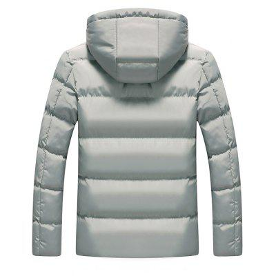 Fashion Warm Padded Winter JacketMens Jackets &amp; Coats<br>Fashion Warm Padded Winter Jacket<br><br>Closure Type: Zipper<br>Clothes Type: Padded<br>Collar: Hooded<br>Embellishment: Others<br>Materials: Cotton, Polyester<br>Occasion: Daily Use<br>Package Content: 1 x Winter Jacket<br>Package Dimension: 60.00 x 50.00 x 4.00 cm / 23.62 x 19.69 x 1.57 inches<br>Package weight: 1.0800 kg<br>Pattern Type: Solid<br>Product weight: 0.8800 kg<br>Seasons: Winter<br>Shirt Length: Regular<br>Sleeve Length: Long Sleeves<br>Style: Fashion<br>Thickness: Thickening