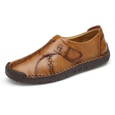Male Vintage-inspired Stitching Soft Casual Oxford ShoesMen's Oxford<br>Male Vintage-inspired Stitching Soft Casual Oxford Shoes<br><br>Closure Type: Slip-On<br>Contents: 1 x Pair of Shoes, 1 x Box<br>Function: Slip Resistant<br>Materials: Rubber, Leather<br>Occasion: Tea Party, Shopping, Office, Holiday, Party, Casual, Daily, Dress<br>Outsole Material: Rubber<br>Package Size ( L x W x H ): 31.00 x 20.00 x 13.00 cm / 12.2 x 7.87 x 5.12 inches<br>Package Weights: 0.90kg<br>Pattern Type: Solid<br>Seasons: Autumn,Spring<br>Style: Modern, Leisure, Fashion, Comfortable, Casual<br>Toe Shape: Round Toe<br>Type: Casual Leather Shoes<br>Upper Material: Leather