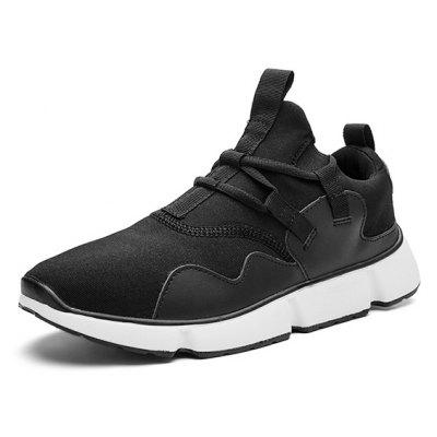 Male Ultralight Soft Shock-absorption Athletic ShoesAthletic Shoes<br>Male Ultralight Soft Shock-absorption Athletic Shoes<br><br>Closure Type: Lace-Up<br>Contents: 1 x Pair of Shoes, 1 x Box<br>Function: Puncture Resistant, Slip Resistant<br>Materials: PU<br>Occasion: Shopping, Sports, Running, Riding, Outdoor Clothing, Holiday, Casual, Daily<br>Outsole Material: PU<br>Package Size ( L x W x H ): 31.00 x 20.00 x 13.00 cm / 12.2 x 7.87 x 5.12 inches<br>Package Weights: 0.75kg<br>Pattern Type: Solid<br>Seasons: Autumn,Spring<br>Style: Modern, Leisure, Fashion, Comfortable, Casual<br>Toe Shape: Round Toe<br>Type: Sports Shoes<br>Upper Material: PU