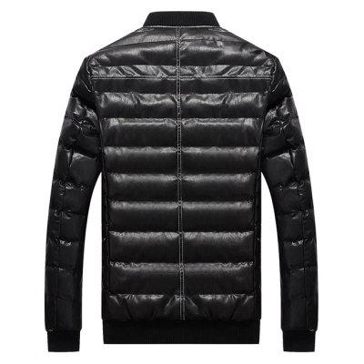 Fashion Warm Winter JacketMens Jackets &amp; Coats<br>Fashion Warm Winter Jacket<br><br>Closure Type: Zipper<br>Clothes Type: Padded<br>Collar: Stand Collar<br>Embellishment: Others<br>Materials: Cotton, Polyester<br>Occasion: Daily Use<br>Package Content: 1 x Winter Jacket<br>Package Dimension: 50.00 x 40.00 x 4.00 cm / 19.69 x 15.75 x 1.57 inches<br>Package weight: 1.1000 kg<br>Pattern Type: Solid<br>Product weight: 0.9000 kg<br>Seasons: Winter<br>Shirt Length: Regular<br>Sleeve Length: Long Sleeves<br>Style: Casual<br>Thickness: Thickening