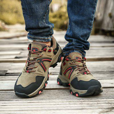 Male Versatile Soft Outdoor Hiking Non-slip Athletic ShoesAthletic Shoes<br>Male Versatile Soft Outdoor Hiking Non-slip Athletic Shoes<br><br>Closure Type: Lace-Up<br>Contents: 1 x Pair of Shoes, 1 x Box, 1 x Dustproof Paper<br>Function: Slip Resistant<br>Materials: TPR, Suede<br>Occasion: Sports, Shopping, Riding, Outdoor Clothing, Holiday, Daily, Casual, Running<br>Outsole Material: TPR<br>Package Size ( L x W x H ): 33.00 x 24.00 x 13.00 cm / 12.99 x 9.45 x 5.12 inches<br>Package Weights: 1.00kg<br>Seasons: Autumn,Spring,Winter<br>Style: Modern, Leisure, Fashion, Comfortable, Casual<br>Toe Shape: Round Toe<br>Type: Sports Shoes<br>Upper Material: Suede