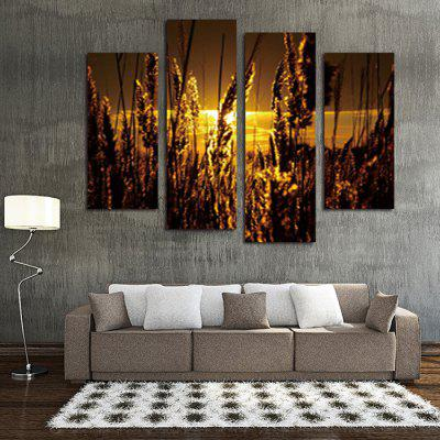 God Painting Wheat Printed Painting Canvas Print 4PCSPrints<br>God Painting Wheat Printed Painting Canvas Print 4PCS<br><br>Brand: God Painting<br>Craft: Print<br>Form: Four Panels<br>Material: Canvas<br>Package Contents: 4 x Print<br>Package size (L x W x H): 42.00 x 6.00 x 6.00 cm / 16.54 x 2.36 x 2.36 inches<br>Package weight: 0.3800 kg<br>Painting: Without Inner Frame<br>Product weight: 0.3400 kg<br>Shape: Vertical<br>Style: Scenery / Landscape<br>Subjects: Still Life<br>Suitable Space: Bedroom,Kids Room,Living Room