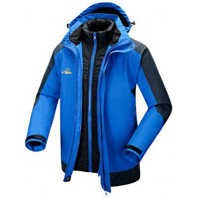 Outdoor Sports Hooded Down Punch Jacket