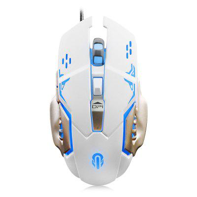E - 3LUE M635 Wired Gaming Mouse LOL Colorful Light