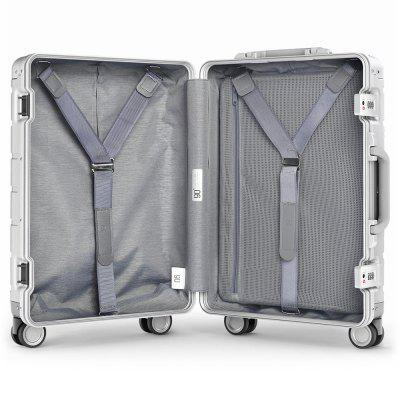 Купить со скидкой Xiaomi 20 inch Metal Travel Suitcase Universal Wheel