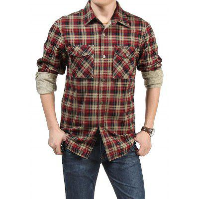 Jeep Rich Camisa Masculina Casual Plus Size